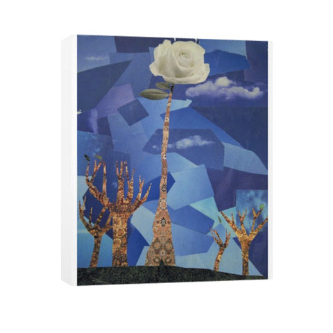 Rose - Vertical Canvas by Nara Tiang - The Bronx Brand - Canvas - Nara Tiang