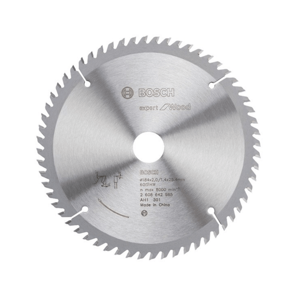 Bosch Circular Saw Blades – Expert for Wood 2608642985 (184 x 25.4mm)