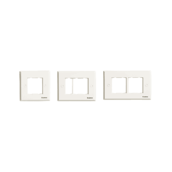 Havells Crabtree Thames Sapphire Front Plates (White)