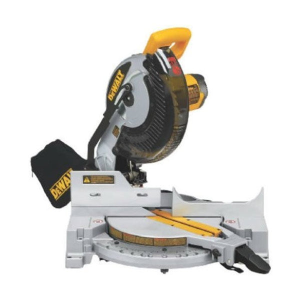 Dewalt 254mm Single Bevel Mitre Saw DW713 (1600 W, 13.6 Kg, 5000 rpm)