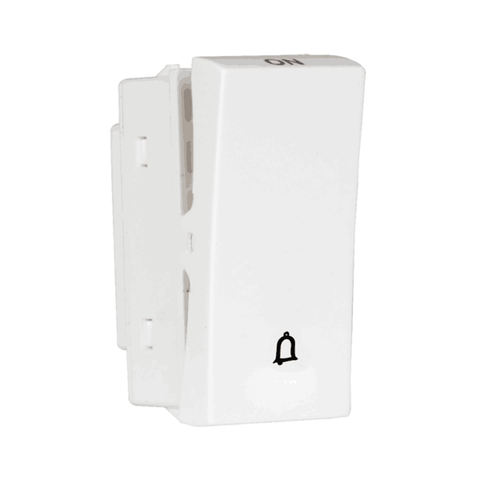 Havells Crabtree Athena 10Ax One Way Bell Push Switch ACASBXW101