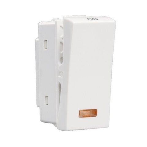 Havells Crabtree Athena 10Ax One Way Switch with Indicator ACASXIW100