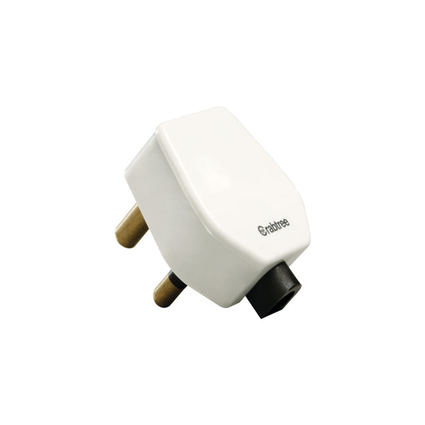 Havells Crabtree Athena 6 A 3 Pin Plug ACAGXXW063