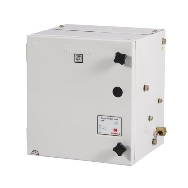 Havells Four Pole & Neutral Fuse Switch Unit