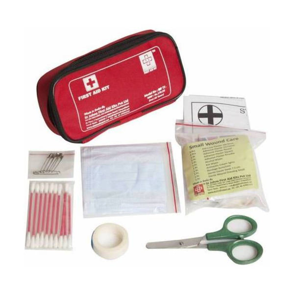 St.John's Travel First Aid Kit Small - Nylon Pouch - 29 Components SJF T2