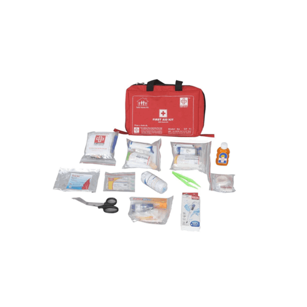 St.John's Family First Aid Kit Small - Nylon 6 Pocket Bag -79 Components SJF F1