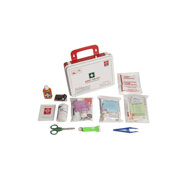 St.John's Workplace First Aid Kit Small - Plastic Box Wall Mounted - 69 Components SJF P5