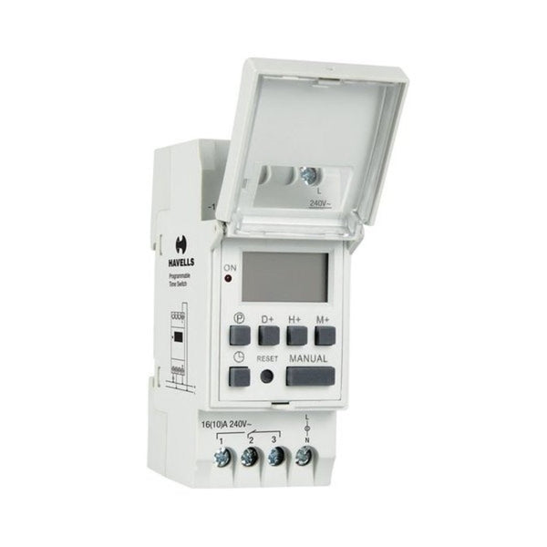 Havells Digital Weekly Programmable Time Switch DHTAW01016
