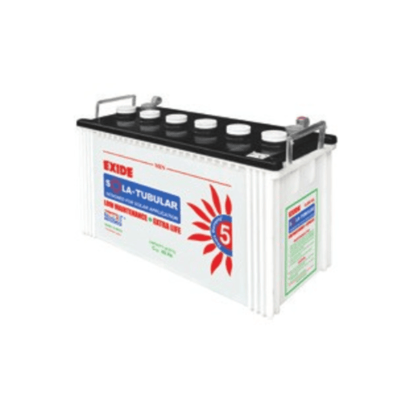 Exide Tall Tubular Solar UPS Battery – 3 LMS 300