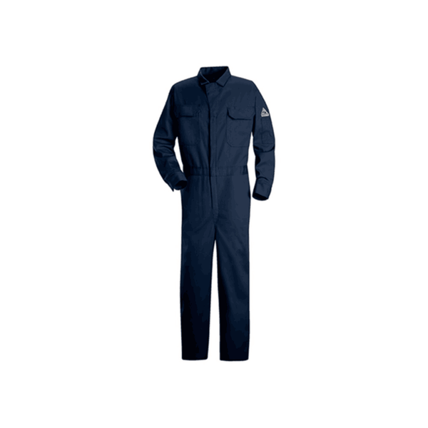 Hadid Boiler Suit with Reflector – Navy Blue