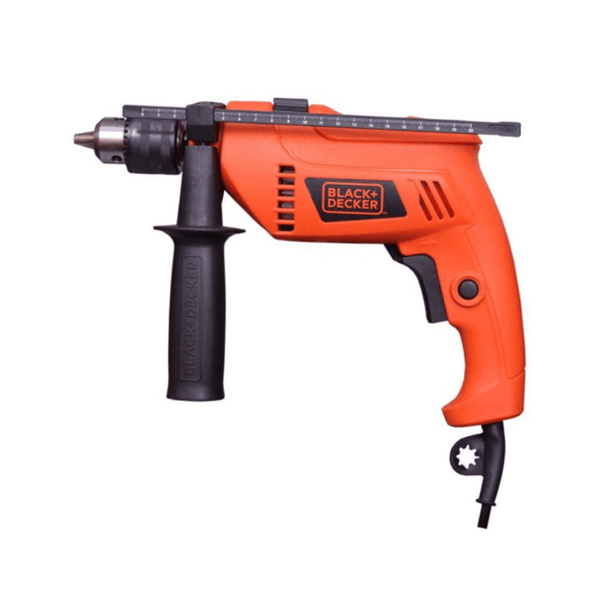 Black & Decker Hammer Drill HD555 (13 mm Chuck Size, 550 W)
