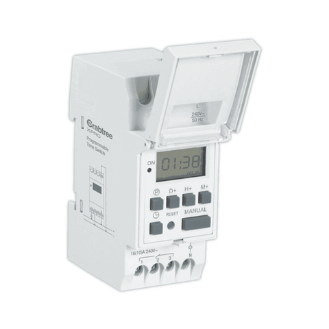 Havells Crabtree Digital Weekly Programmable Time Switch - DCTAW01016