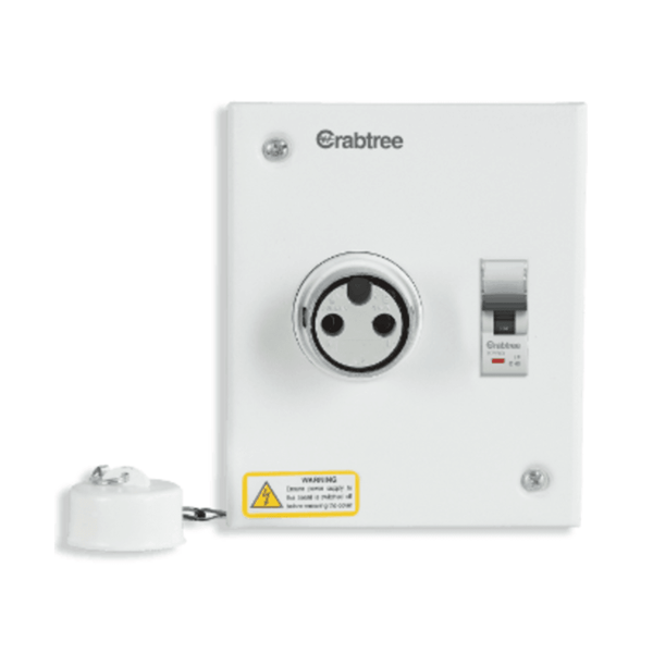 Crabtree Xpro Plug & Socket Board