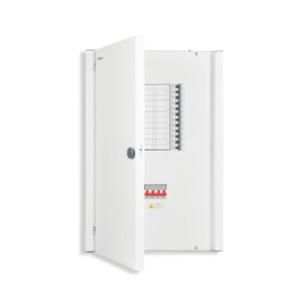 Crabtree Xpro TPN Vertical Distribution Board for Isolator