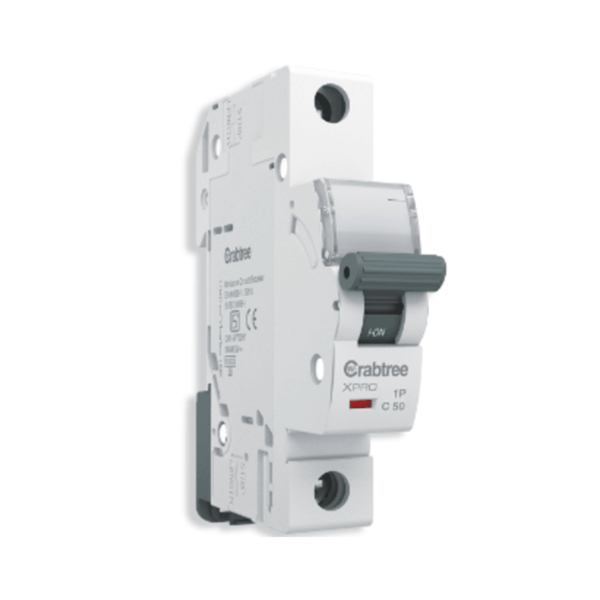Crabtree Xpro Miniature Circuit Breaker Single Pole 'C' Curve Series
