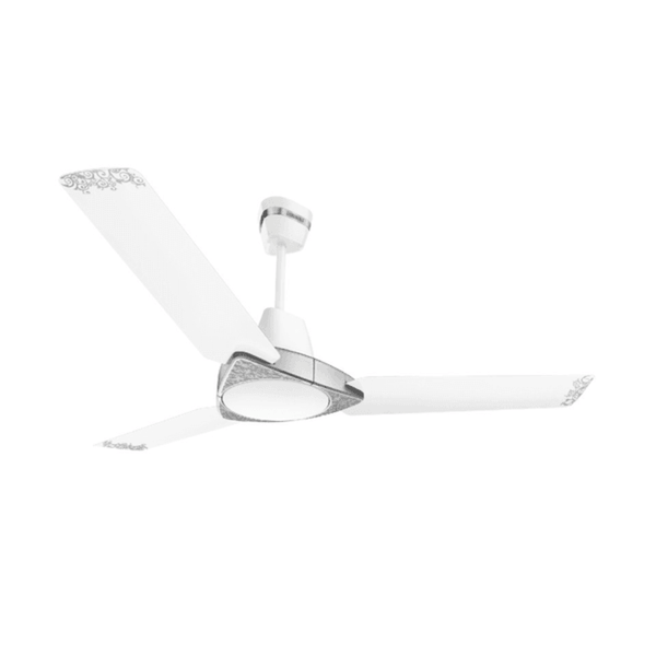 Luminous Jaipur Bandhej 1200mm Ceiling Fan – Malabar Silver