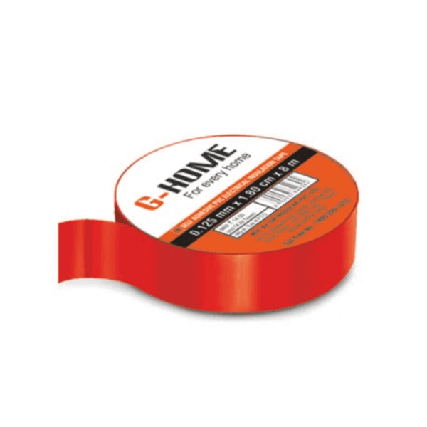 GM G HOME FR Self Adhesive PVC Insulated Electrical Tape  0.125mm x 1.80cm x 8m– WR8095