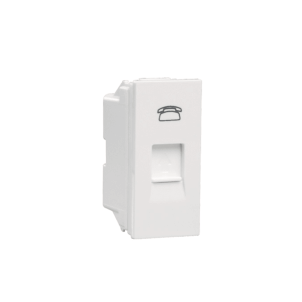 Crabtree Amare Telephone Socket ACNKRXW112