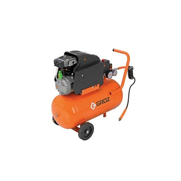 Groz 2HP Reciprocating Direct Air Compressor RAC/DD/2-11/24-1