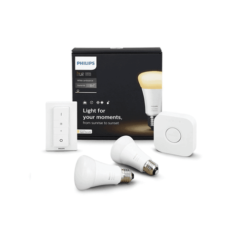 Philips Hue White Ambiance 9.5w A60 E27 Set