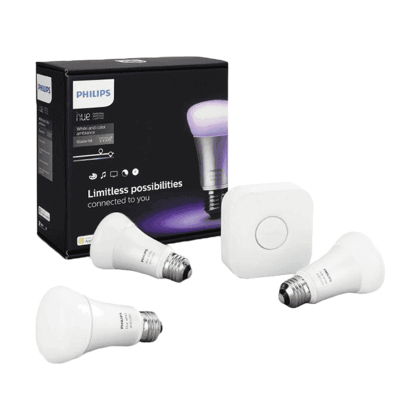 Philips Hue White Ambiance 10W A60 E27 Set