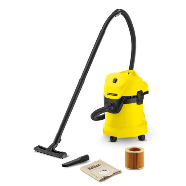 Karcher Wet and Dry Vacuum Cleaner 1000 W 17 Litre WD3