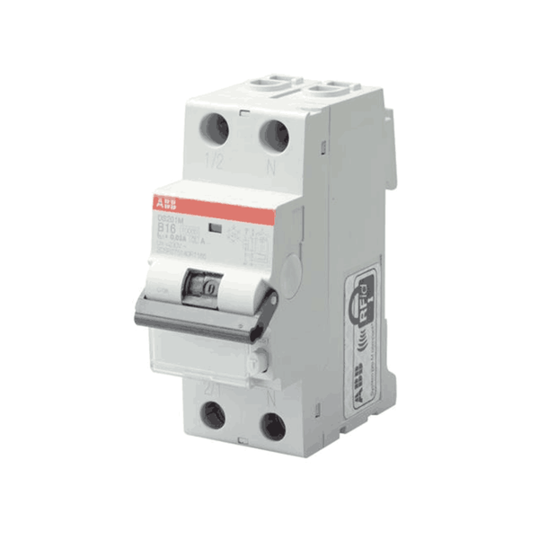 ABB RCBO 6-40A 10KA  AC Type DS200M Series