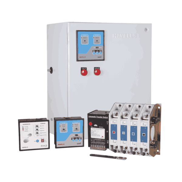 Havells Instaline Automatic Transfer Switch Three Pole from 100 A - 160 A With Complete Protection - Open Execution