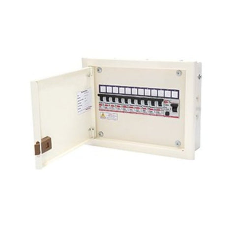 Indoasian Caretron Distribution Boards SPN Double Door