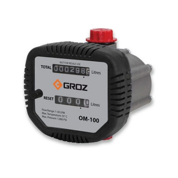 Groz Mechanical Oil Meter  OM-100/1-2/BSP