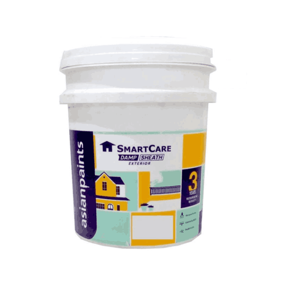 Asian Paint 20 Litre White Smartcare Damp Sheath Exterior 5626