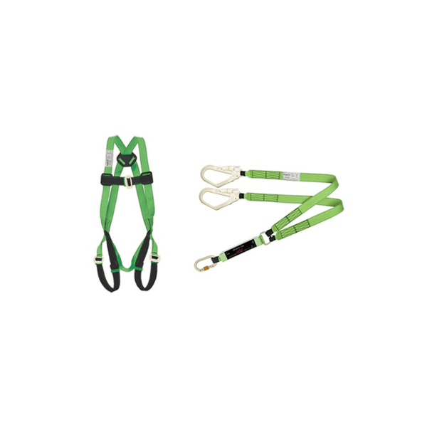 Karam Karam PN 11  Full Body Harness With Lanyard With PN132 Steel Tower Hook