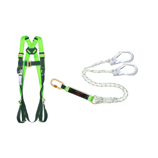 Karam PN 24 Double Lanyard with Scaffolding Hook