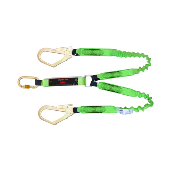Karam 44 mm Expandable Shock Absorber Twin Lanyard PN 371