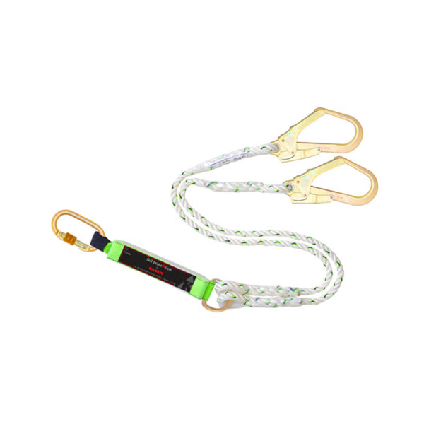 Karam 12 mm Twisted Rope Forked Lanyard PN 351