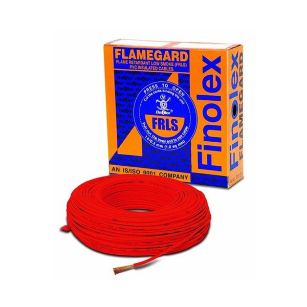 Finolex 1 Sq.mm 90 Meter Flame Retardant Low Smoke PVC Insulated Cable