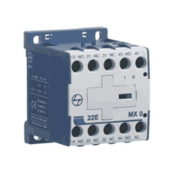 L&T Control Relays (Auxiliary Contactors) MXO Type For AC Control Standard Coil Voltage-24-220Hz