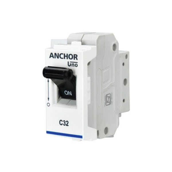 Anchor Roma C Type Mini Modular MCB Single Pole 6A-32A