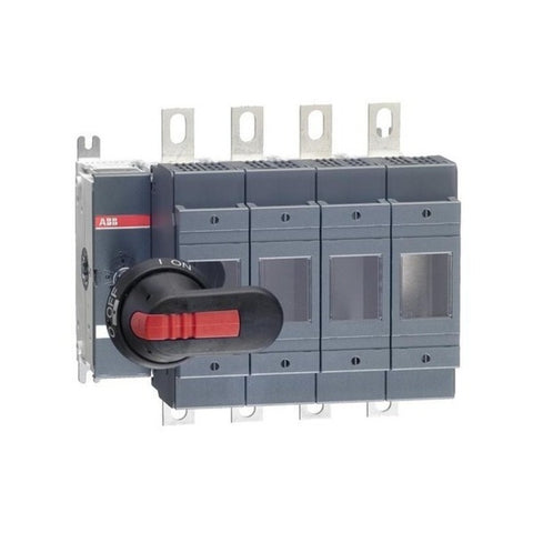 ABB DIN Type OS Switch Disconnector Fuse 200-800 A Four Pole