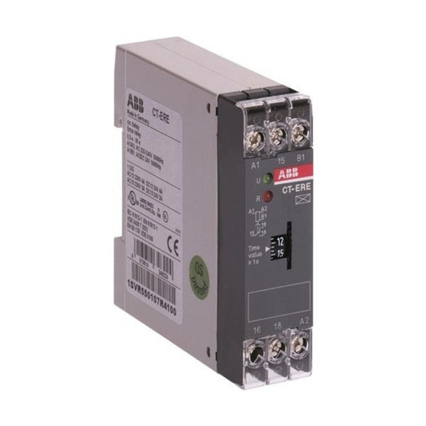 ABB Electronic ON Delay Timer 1 c/o 2 LED CT-ERE