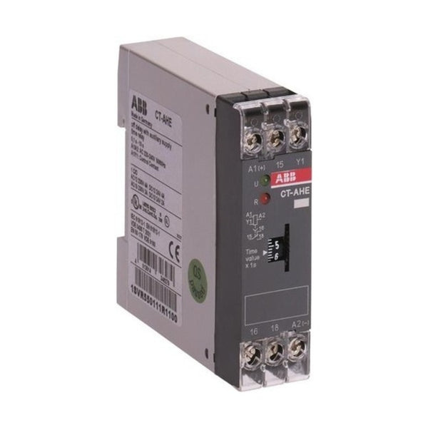ABB Electronic ON Delay Timer 1 c/o 2 LED CT-AHE