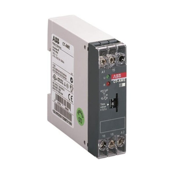 ABB Electronic impulse OFF Delay Timer 1 c/o 2 LED CT-AWE