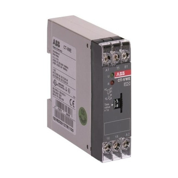 ABB Electronic impulse ON Delay Timer 1 c/o 2 LED CT-VWE
