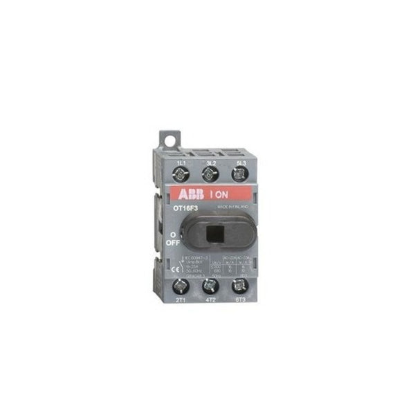 ABB OT Switch-Disconnector With Direct Knob Type Handle 16-125A Three-Pole