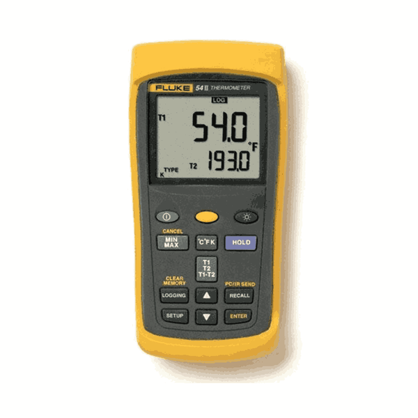 Fluke Data Logging Thermometer with Dual Input 54 II B