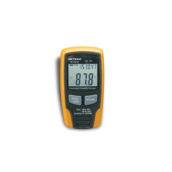 Metravi Data Logger For Temperature And Humidity DL-TH-01