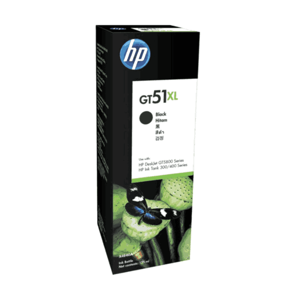 HP 135-ml Black Original Ink Bottle GT51XL