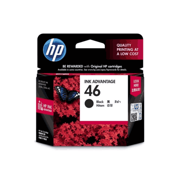 HP 26 ml Tri-color Original Ink Advantage Cartridge 46