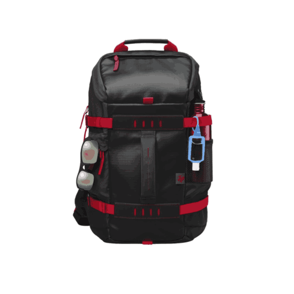 HP 15.6 inch Odyssey Red/Black Laptop Backpack X0R83AA