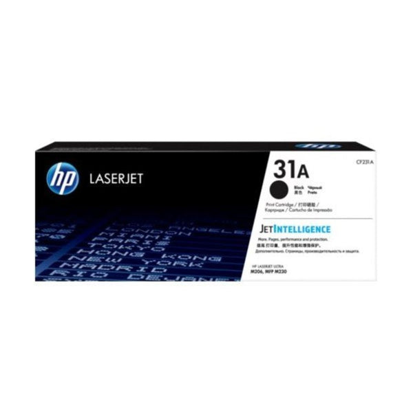 HP 31A Black Original LaserJet Toner Cartridge